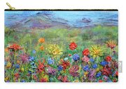 Brazen Blooms Print Option 2 Carry-all Pouch