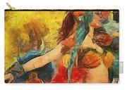 Brazilian Carnival Carry-all Pouch by Ayse Deniz