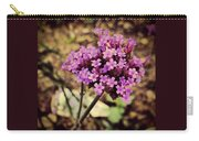 Brazilian Verbena Carry-all Pouch
