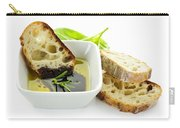 Bread Olive Oil And Vinegar Carry-all Pouch