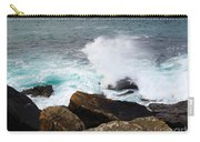 Breakers And Rocks Carry-all Pouch