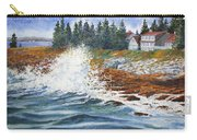 Breakers At Pemaquid Carry-all Pouch