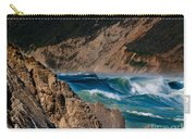 Breakers At Pt Reyes Carry-all Pouch by Bill Gallagher