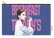 Breakfast At Tiffany's Carry-all Pouch