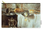 Breakfast Still Life Carry-all Pouch by Willem Claesz Heda
