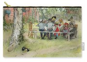 Breakfast Under The Big Birch Carry-all Pouch