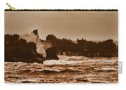 Breaking Waves-big Island Hawaii Carry-all Pouch