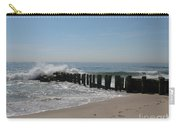 Breakwater At New Jersey Shore Carry-all Pouch