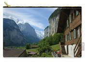 Breathtaking Lauterbrunnen Valley Carry-all Pouch