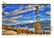 Breckenridge Skies Carry-all Pouch by Scott Mahon
