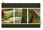 Breeze - Banana Leaf Triptych Carry-all Pouch