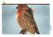 Breezy Morning Housefinch Carry-all Pouch