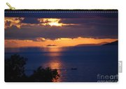 Brela Sunset Croatia Carry-all Pouch