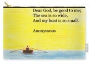 Breton Fisherman's Prayer Carry-all Pouch