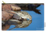 Brewers Sparrow At Waterhole Carry-all Pouch