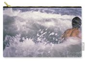 Brian Swimming In The Sea Carry-all Pouch
