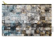 Brick Mosaic Carry-all Pouch by Stephanie Grant