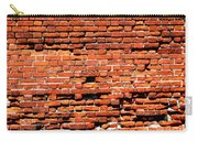 Brick Scarp Walls And Casement Gallery Carry-all Pouch