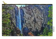 Bridalveil Falls In Yosemite Valley Carry-all Pouch