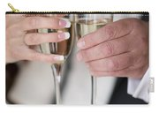 Bride And Groom Champagne Toast Carry-all Pouch