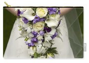 Bride And Wedding Bouquet Carry-all Pouch