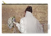 Bride At The Wall Carry-all Pouch