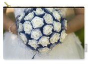 Bride With Flowers Carry-all Pouch