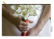 Bride With Lily Bouquet Carry-all Pouch