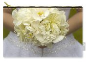 Bride With Wedding Bouquet Carry-all Pouch