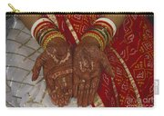 Brides Hands India Carry-all Pouch