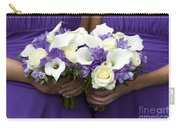 Bridesmaids With Wedding Bouquets Carry-all Pouch