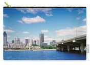 Bridge Across A Canal, Lachine Canal Carry-all Pouch