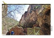 Bridge Across The Whitewater River On Whitewater Catwalk National Recreation Trail Near Glenwood-new Carry-all Pouch