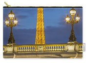 Bridge And Eiffel Carry-all Pouch