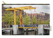 Bridge And Houses On Entrepotdok In Amsterdam Carry-all Pouch