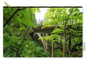Bridge And Lush Vegetation Carry-all Pouch
