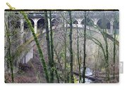 Bridge Arch Through The Trees Carry-all Pouch