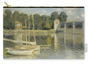 Bridge At Argenteuil Carry-all Pouch