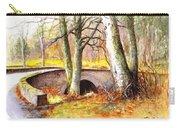 Bridge At Littlemill Glenmuick Scotland Carry-all Pouch