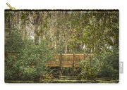Bridge Beside The Pond Carry-all Pouch