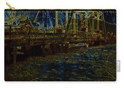 Bridge Crossing C. 1885 Glowing Edges Carry-all Pouch