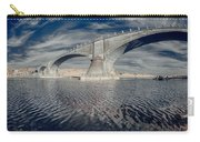 Bridge Curvature In Color Carry-all Pouch