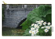 Stone Bridge Daisies Carry-all Pouch