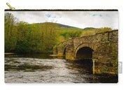 Bridge Near Cymer Abbey Carry-all Pouch