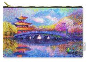 Bridge Of Dreams Carry-all Pouch by Jane Small
