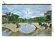 Bridge Of Flowers Scene Carry-all Pouch