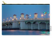 Bridge Of Lions At Dusk St Augustine Florida Carry-all Pouch