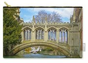 Bridge Of Sighs Cambridge Carry-all Pouch