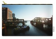 Bridge On Charles River, Boston Carry-all Pouch