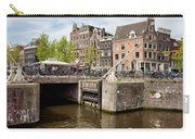 Bridge On Singel Canal In Amsterdam Carry-all Pouch